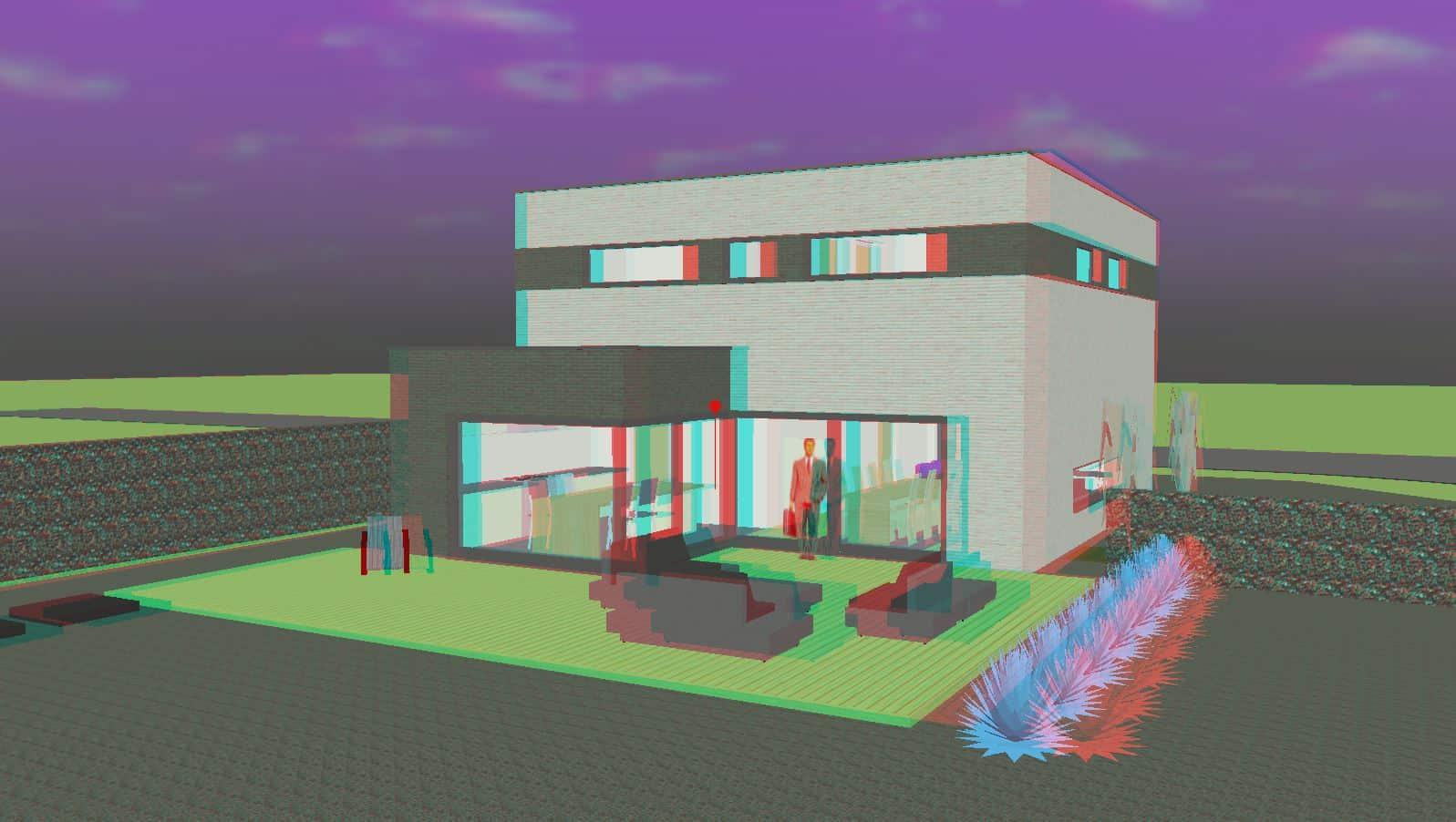 Detail afbeelding 4 van M & L   –   Strakke eenvoudige Gezinswoning – Zutendaal | Ontwerp door architect Patrick Strackx