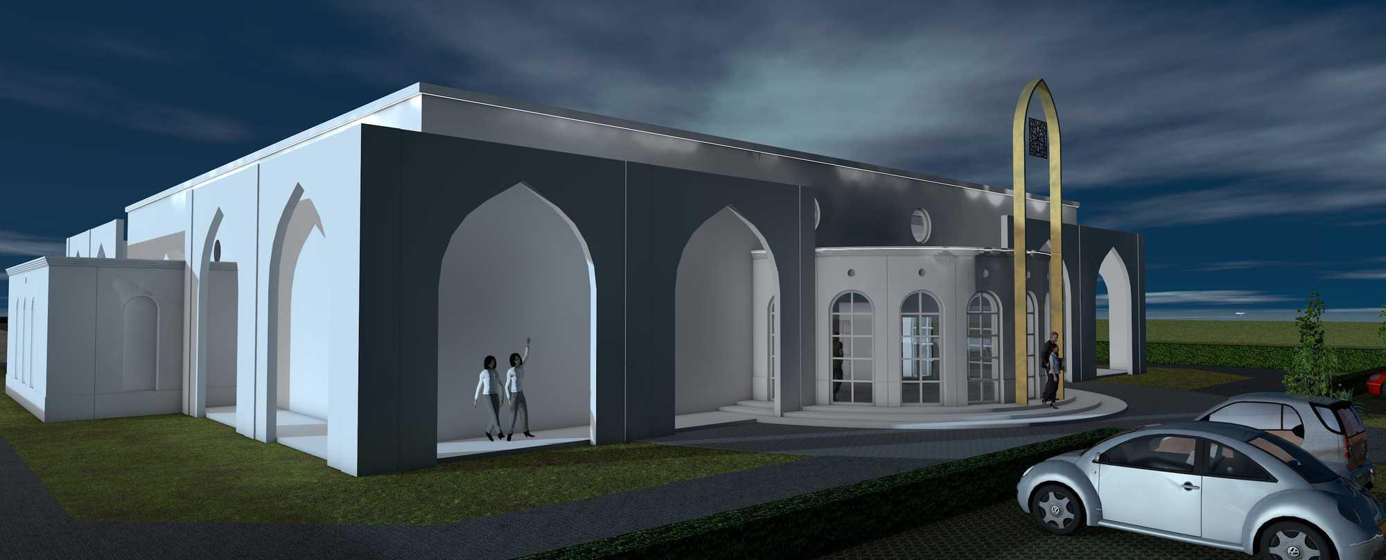 Detail afbeelding 10 van BEJAZ SARAY – ontmoetingscentrum   Ontwerp door architect Patrick Strackx