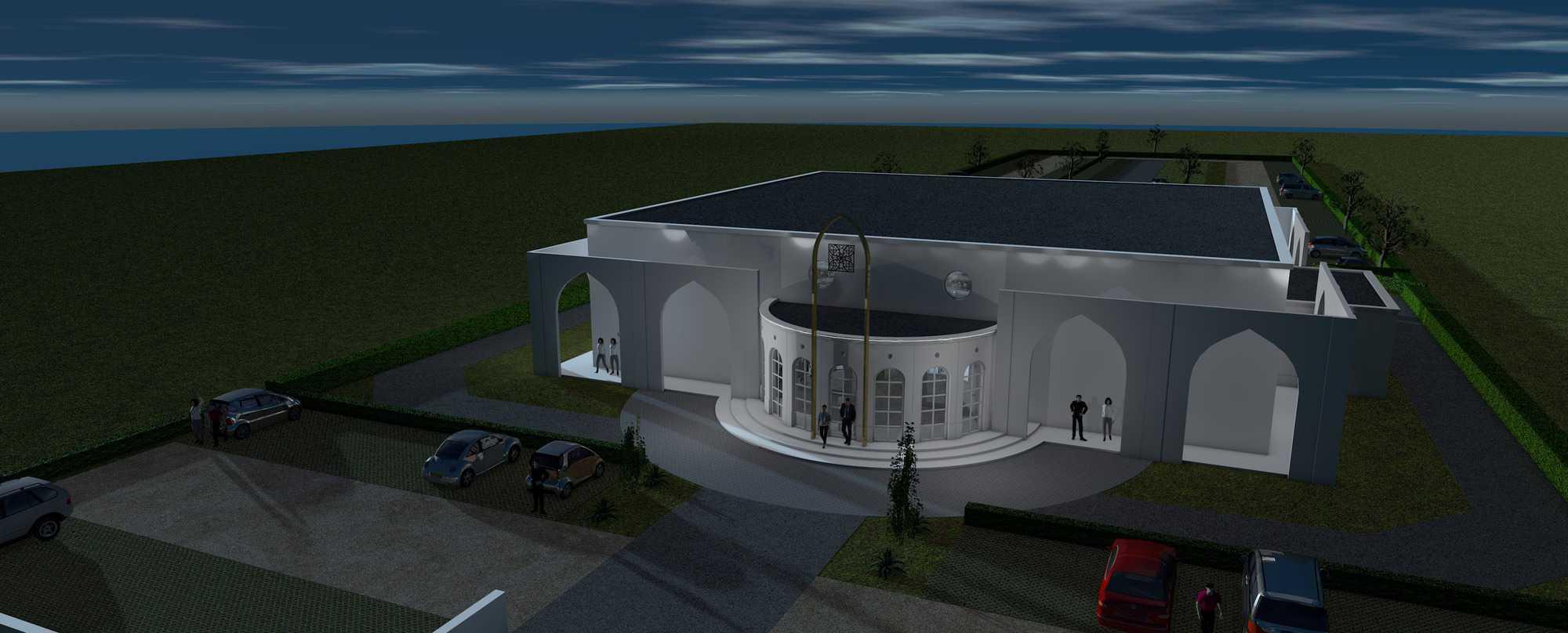 Detail afbeelding 12 van BEJAZ SARAY – ontmoetingscentrum   Ontwerp door architect Patrick Strackx
