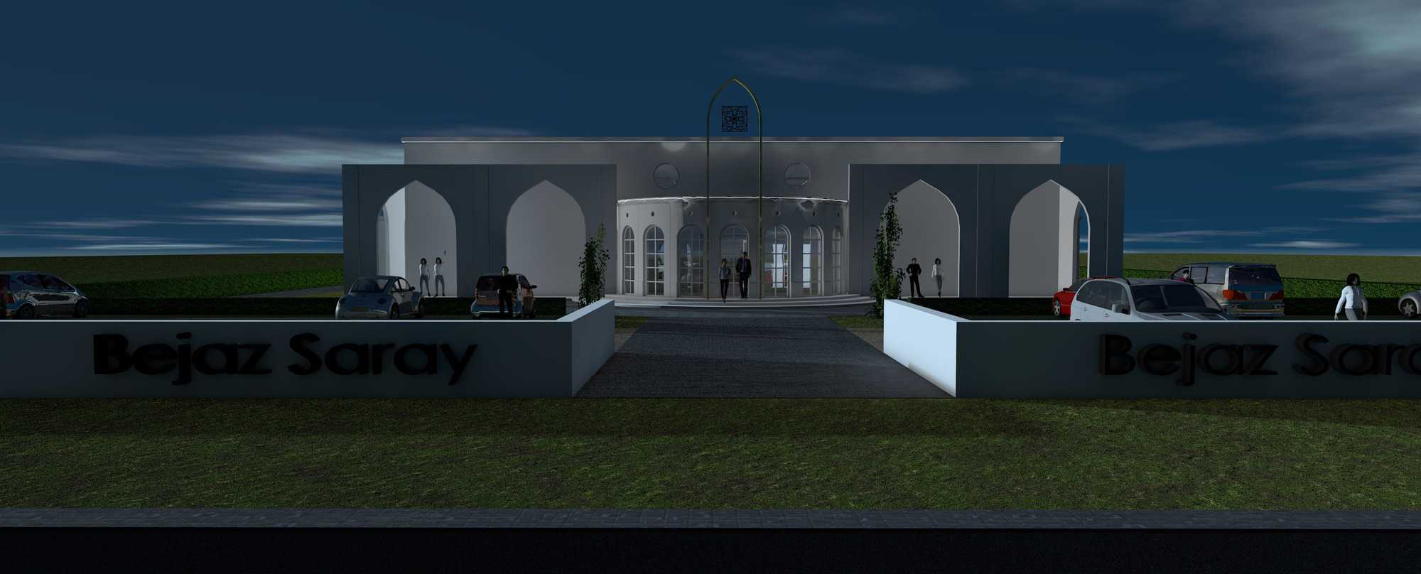 Detail afbeelding 9 van BEJAZ SARAY – ontmoetingscentrum   Ontwerp door architect Patrick Strackx