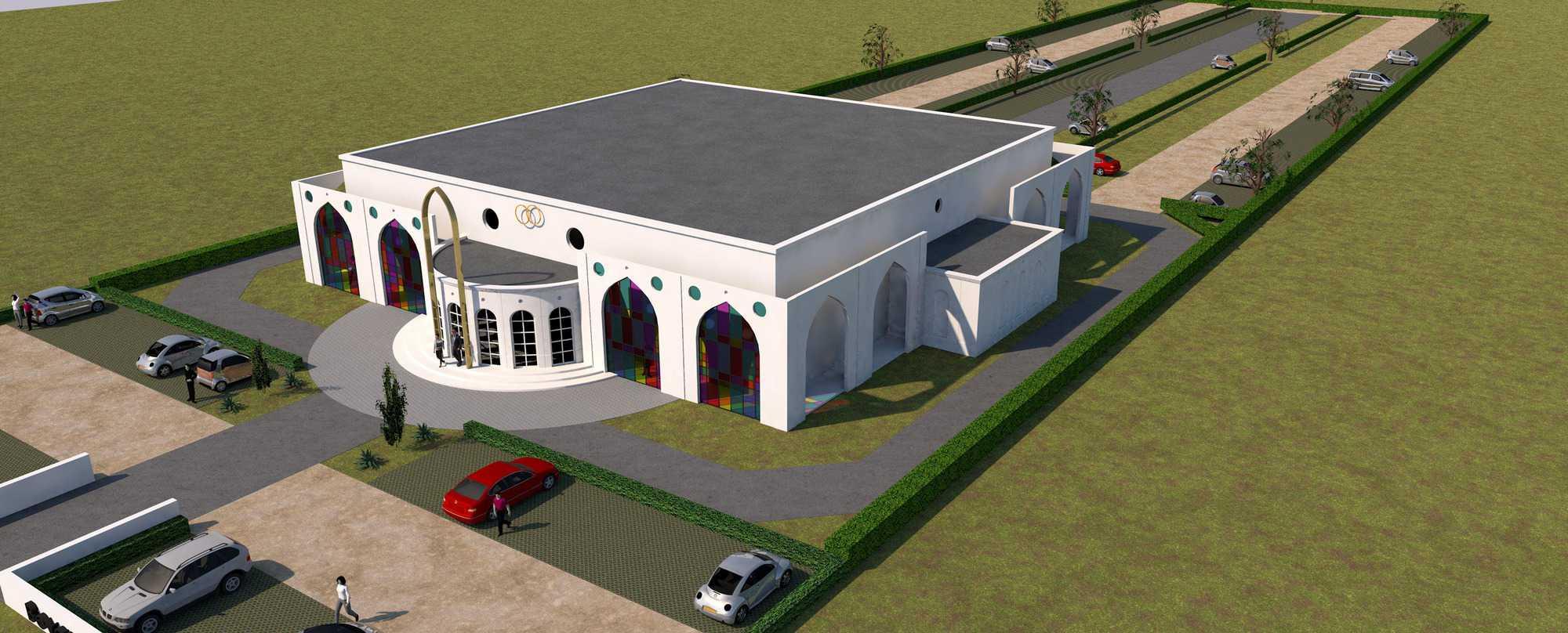 Detail afbeelding 2 van BEJAZ SARAY – ontmoetingscentrum   Ontwerp door architect Patrick Strackx