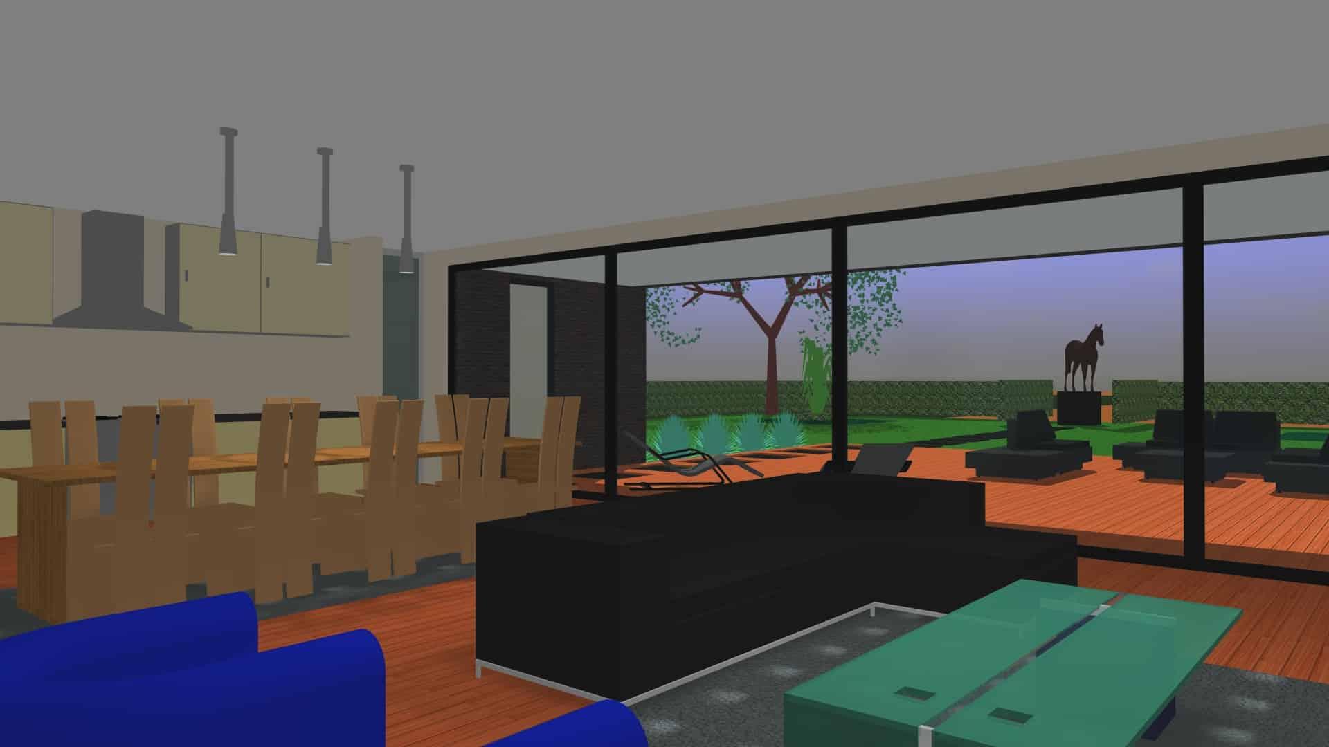 Detail afbeelding 4 van G-C   –   Loft woning – Genk | Ontwerp door architect Patrick Strackx