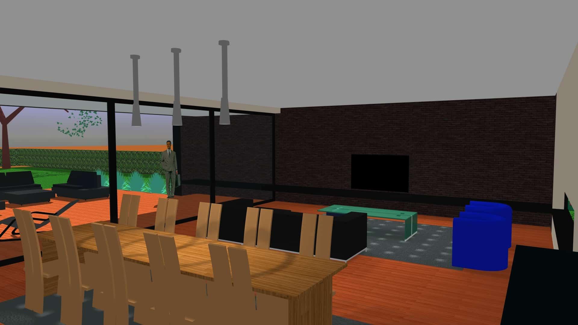 Detail afbeelding 3 van G-C   –   Loft woning – Genk | Ontwerp door architect Patrick Strackx