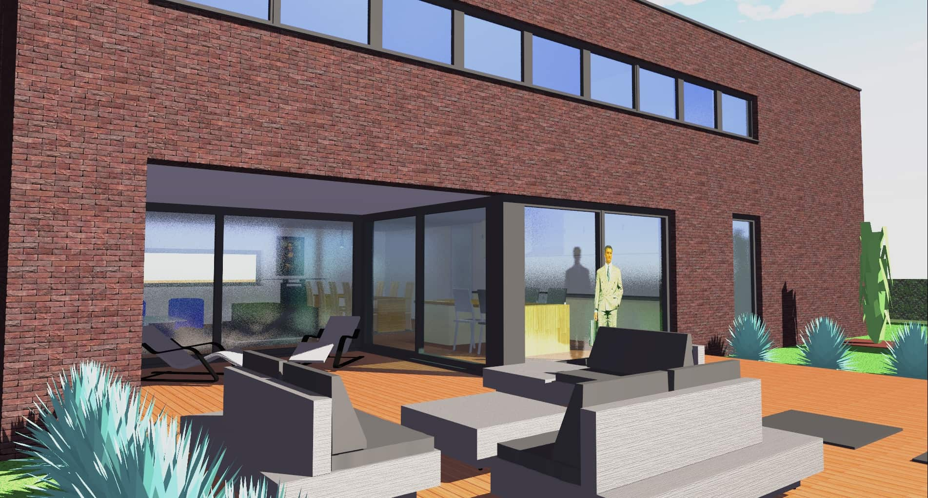 Detail afbeelding 5 van G-C   –   Loft woning – Genk | Ontwerp door architect Patrick Strackx