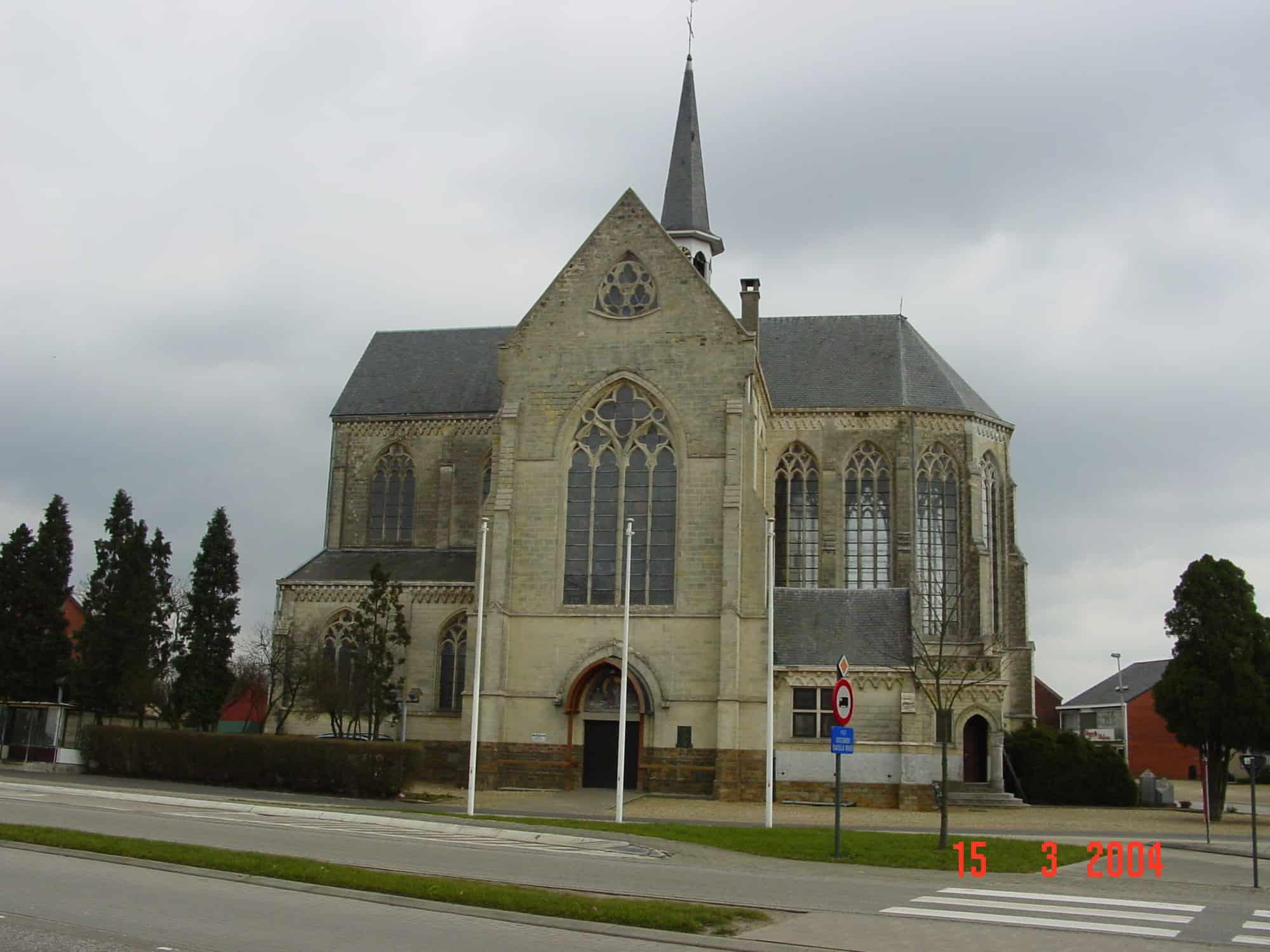 Detail afbeelding 1 van St – Jozefskerk   –   Wiemismeer   –  Zutendaal | Ontwerp door architect Patrick Strackx