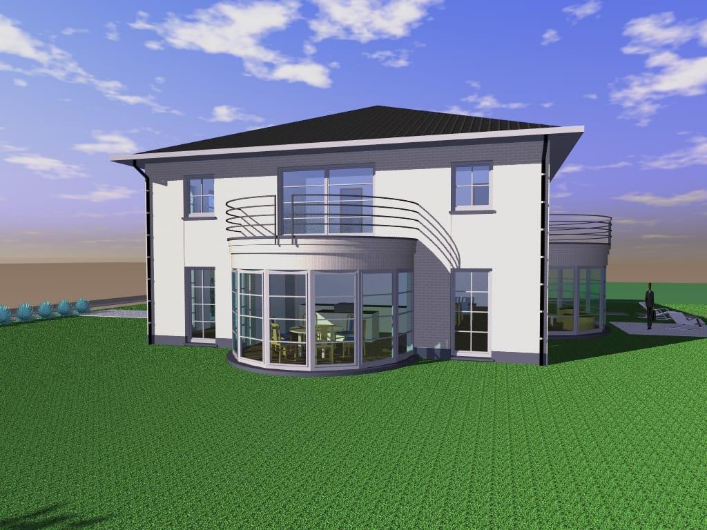 Detail afbeelding 2 van Villa te Genk | Ontwerp door architect Patrick Strackx