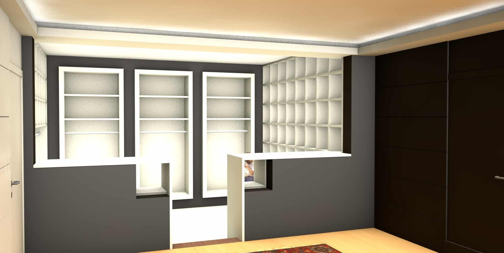 Detail afbeelding 3 van Elegance Lingerie Genk | Ontwerp door architect Patrick Strackx