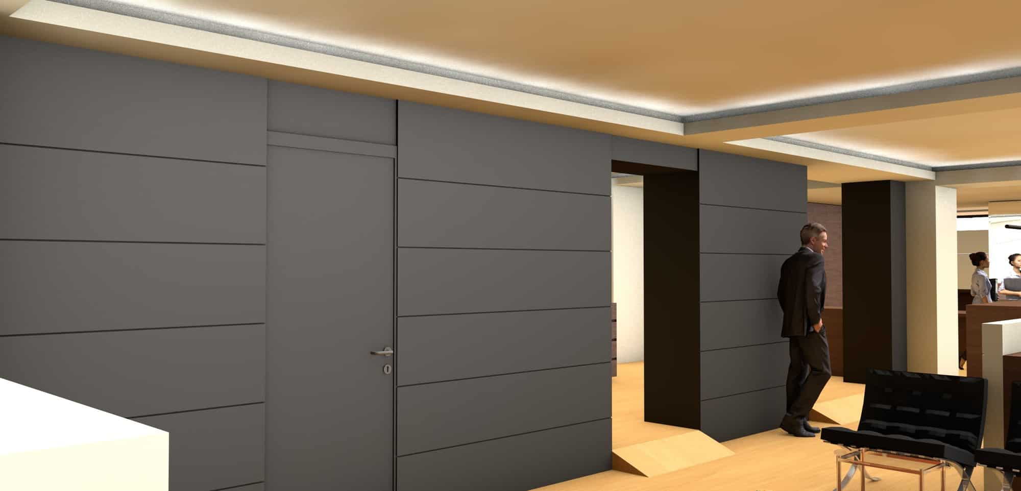 Detail afbeelding 9 van Elegance Lingerie Genk | Ontwerp door architect Patrick Strackx