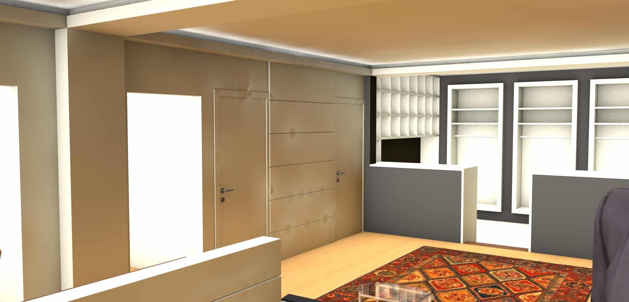 Detail afbeelding 11 van Elegance Lingerie Genk | Ontwerp door architect Patrick Strackx