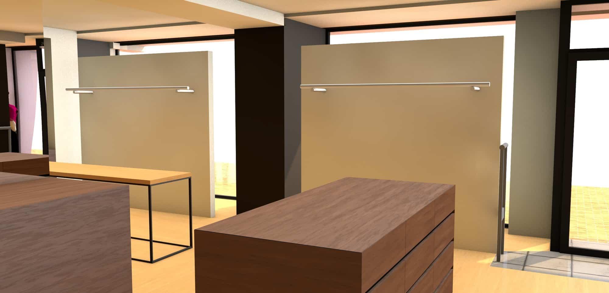 Detail afbeelding 5 van Elegance Lingerie Genk | Ontwerp door architect Patrick Strackx