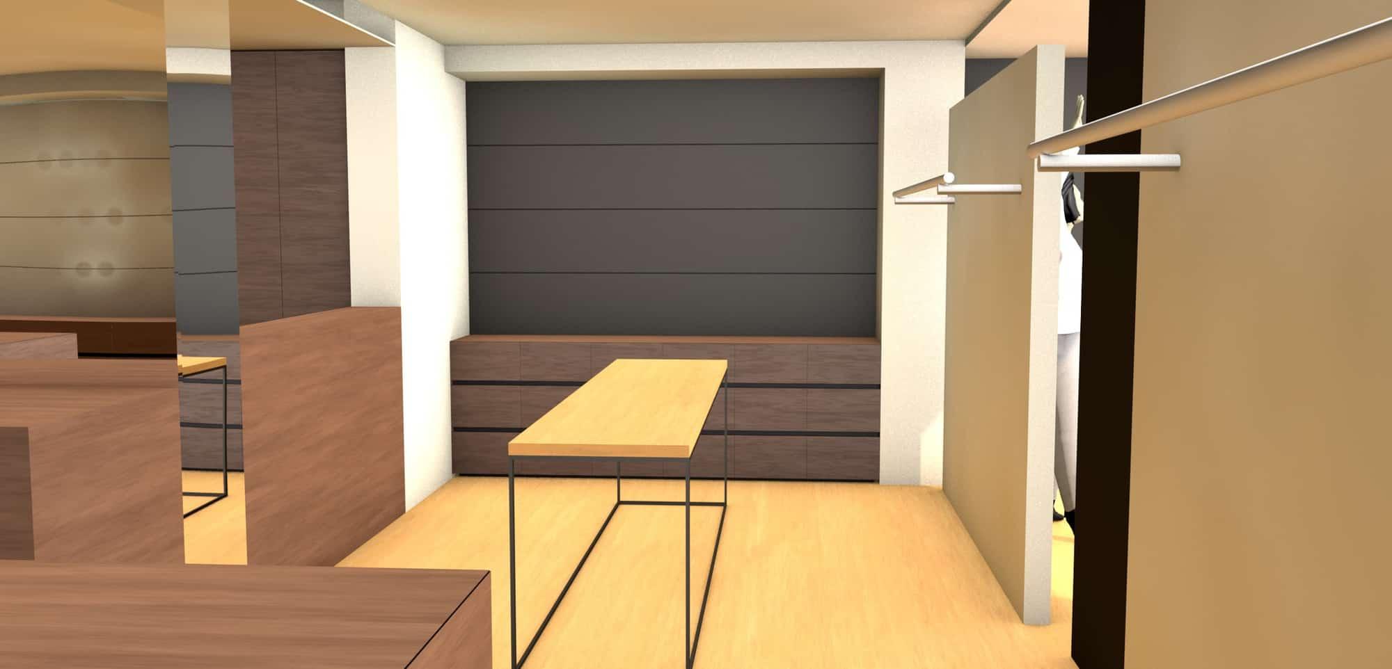 Detail afbeelding 6 van Elegance Lingerie Genk | Ontwerp door architect Patrick Strackx