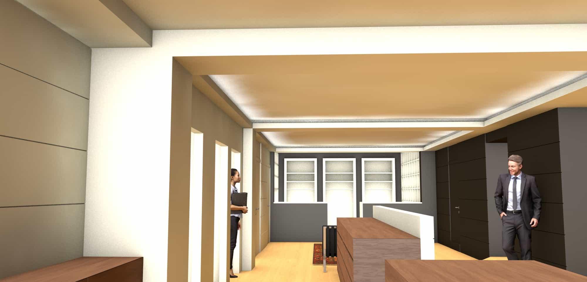 Detail afbeelding 8 van Elegance Lingerie Genk | Ontwerp door architect Patrick Strackx