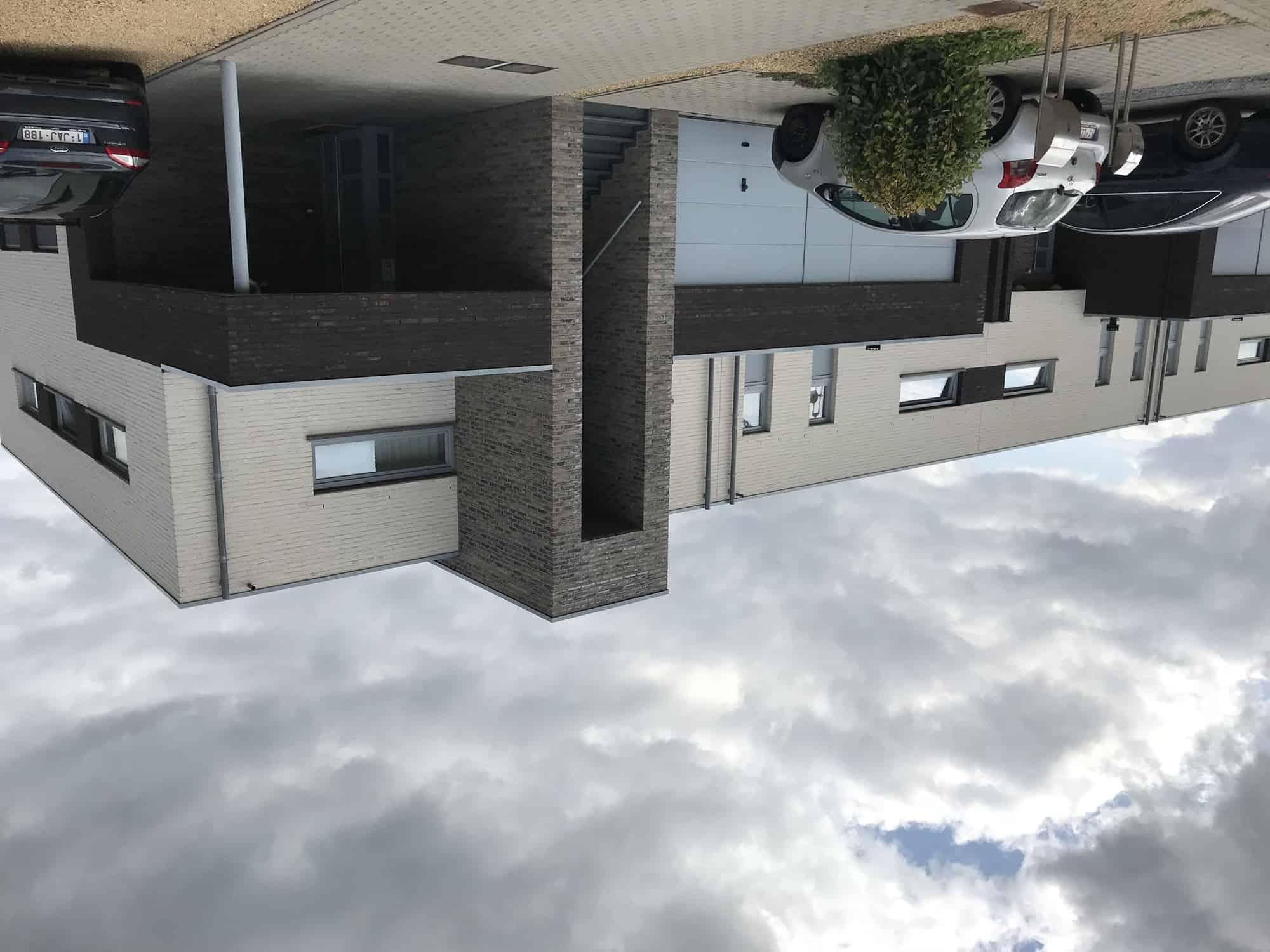 Detail afbeelding 2 van DAELERSVELD  –  18 Monderne Woningen  – Herk de Stad | Ontwerp door architect Patrick Strackx