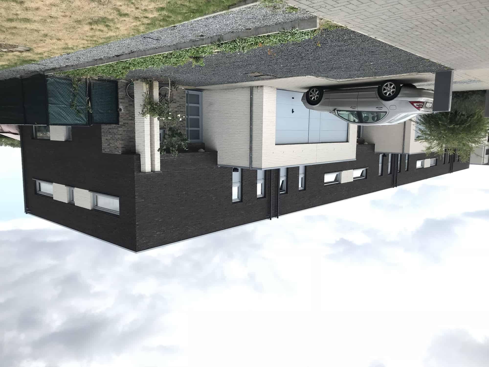 Detail afbeelding 1 van DAELERSVELD  –  18 Monderne Woningen  – Herk de Stad | Ontwerp door architect Patrick Strackx