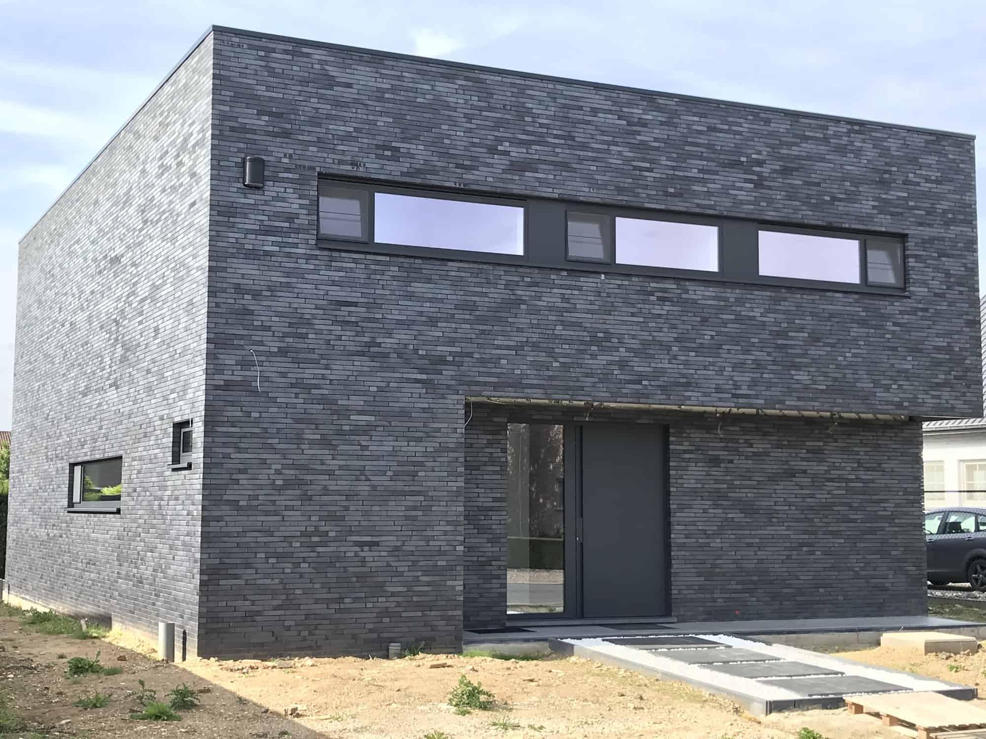 Detail afbeelding 3 van VM   –    Strakke Gezinswoning    –   Maasmechelen | Ontwerp door architect Patrick Strackx
