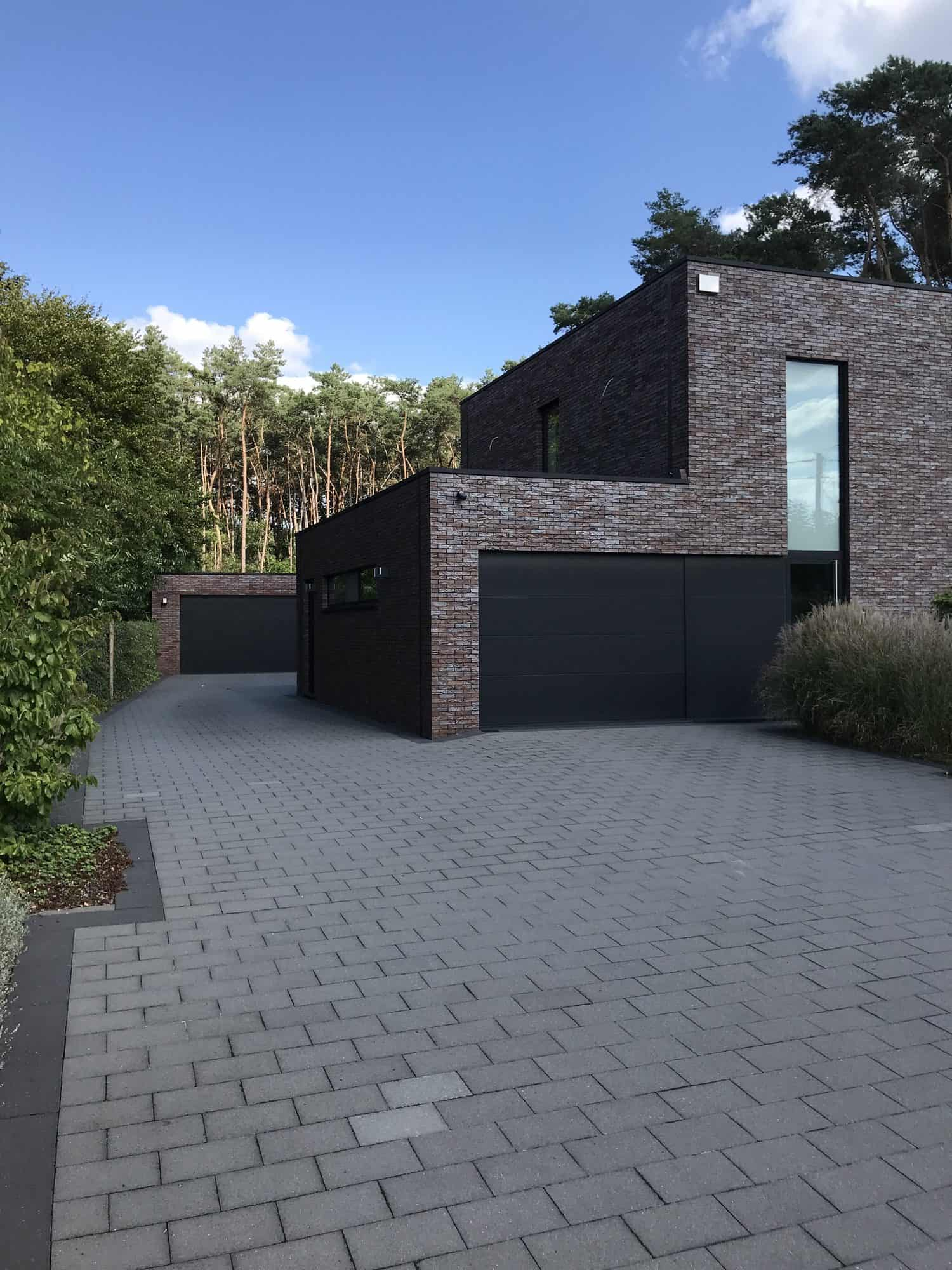 Detail afbeelding 5 van V & M   –   Strakke Woning   –   Zutendaal | Ontwerp door architect Patrick Strackx