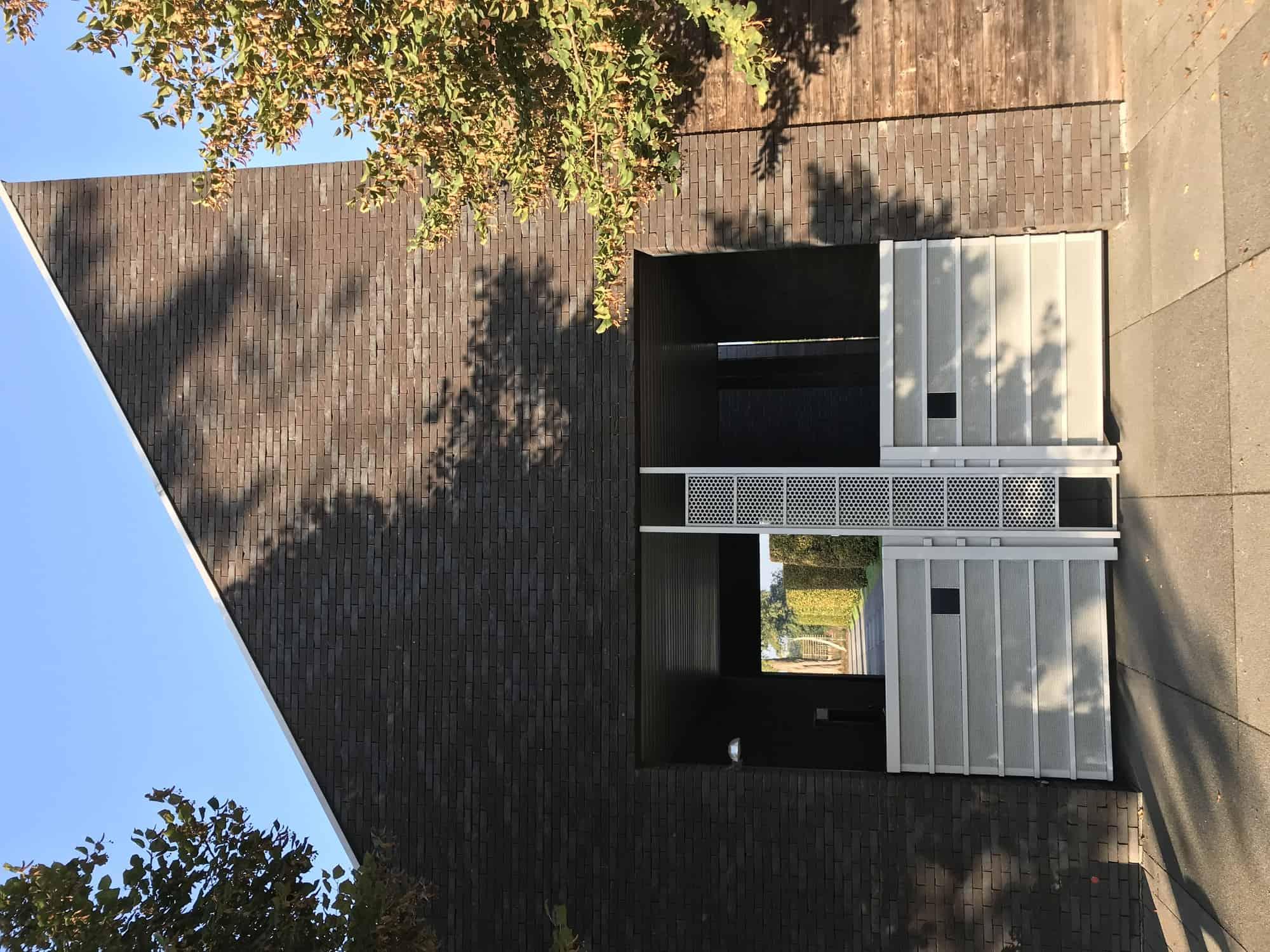 Detail afbeelding 4 van AFSCHEIDS-RUIMTE  – Kerkhof Zutendaal | Ontwerp door architect Patrick Strackx