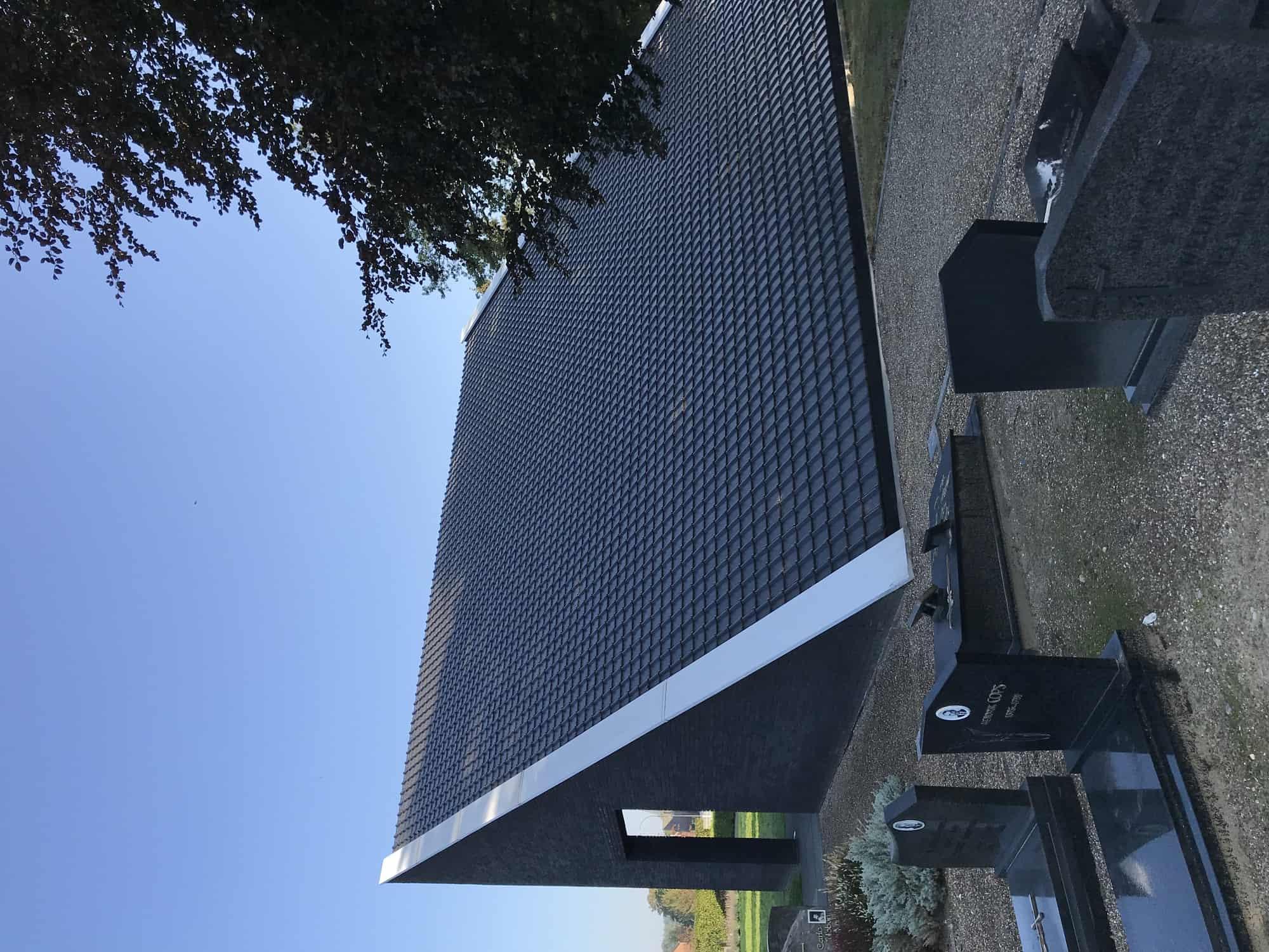 Detail afbeelding 5 van AFSCHEIDS-RUIMTE  – Kerkhof Zutendaal | Ontwerp door architect Patrick Strackx