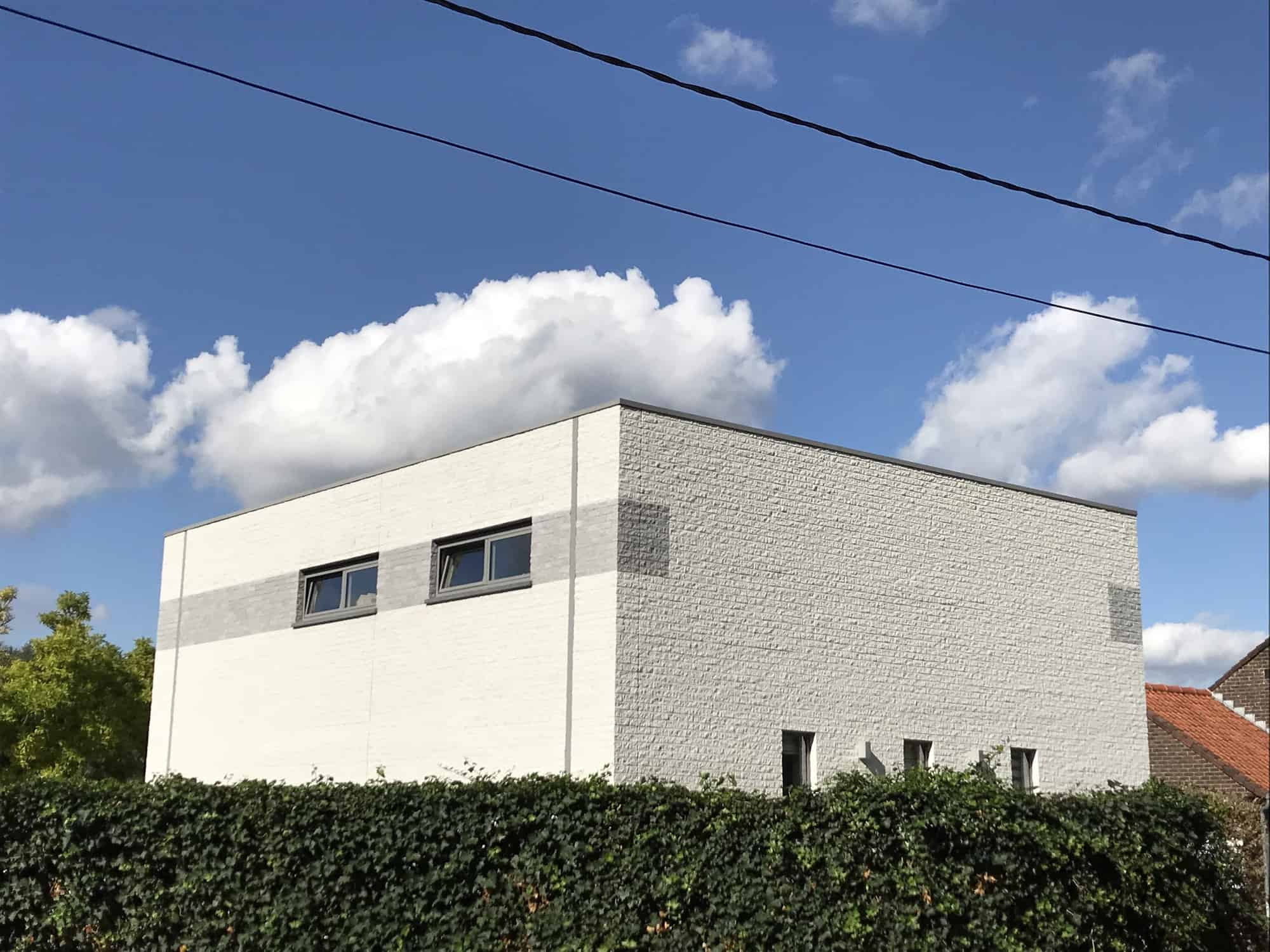 Detail afbeelding 2 van M & L   –   Strakke eenvoudige Gezinswoning – Zutendaal | Ontwerp door architect Patrick Strackx