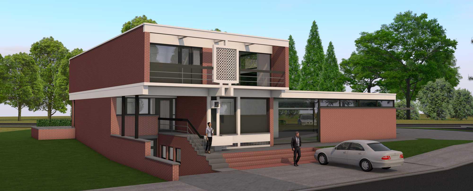 Detail afbeelding 1 van Verbouwing Modernistische Villa | Ontwerp door architect Patrick Strackx