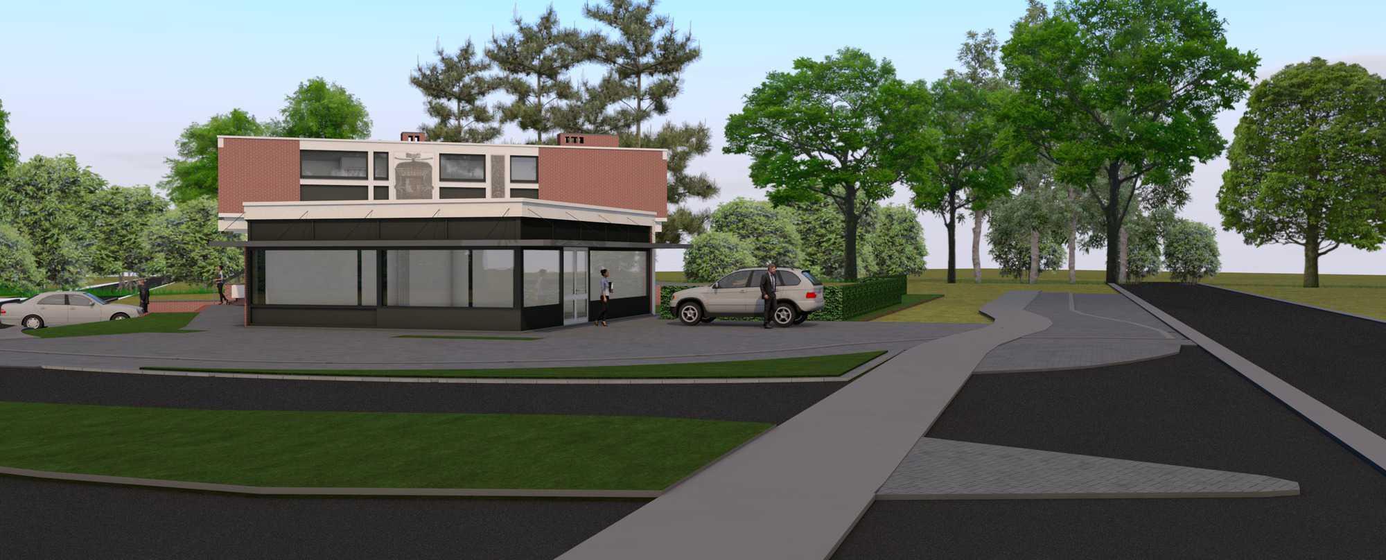Detail afbeelding 3 van Verbouwing Modernistische Villa | Ontwerp door architect Patrick Strackx
