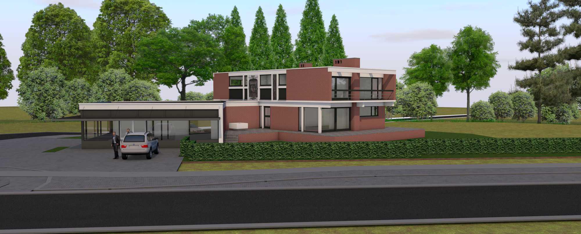 Detail afbeelding 4 van Verbouwing Modernistische Villa | Ontwerp door architect Patrick Strackx
