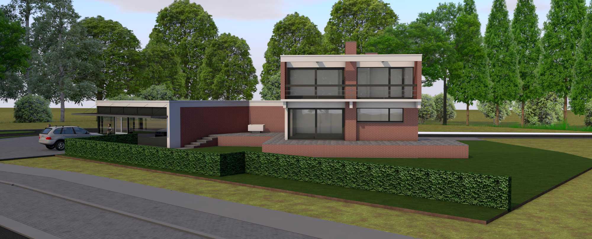 Detail afbeelding 5 van Verbouwing Modernistische Villa | Ontwerp door architect Patrick Strackx