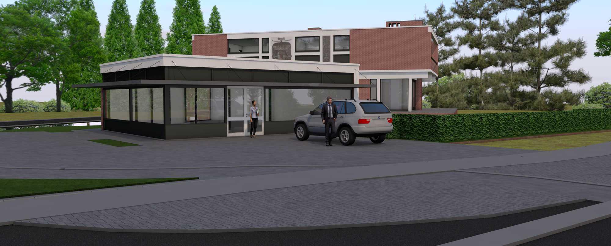 Detail afbeelding 6 van Verbouwing Modernistische Villa | Ontwerp door architect Patrick Strackx