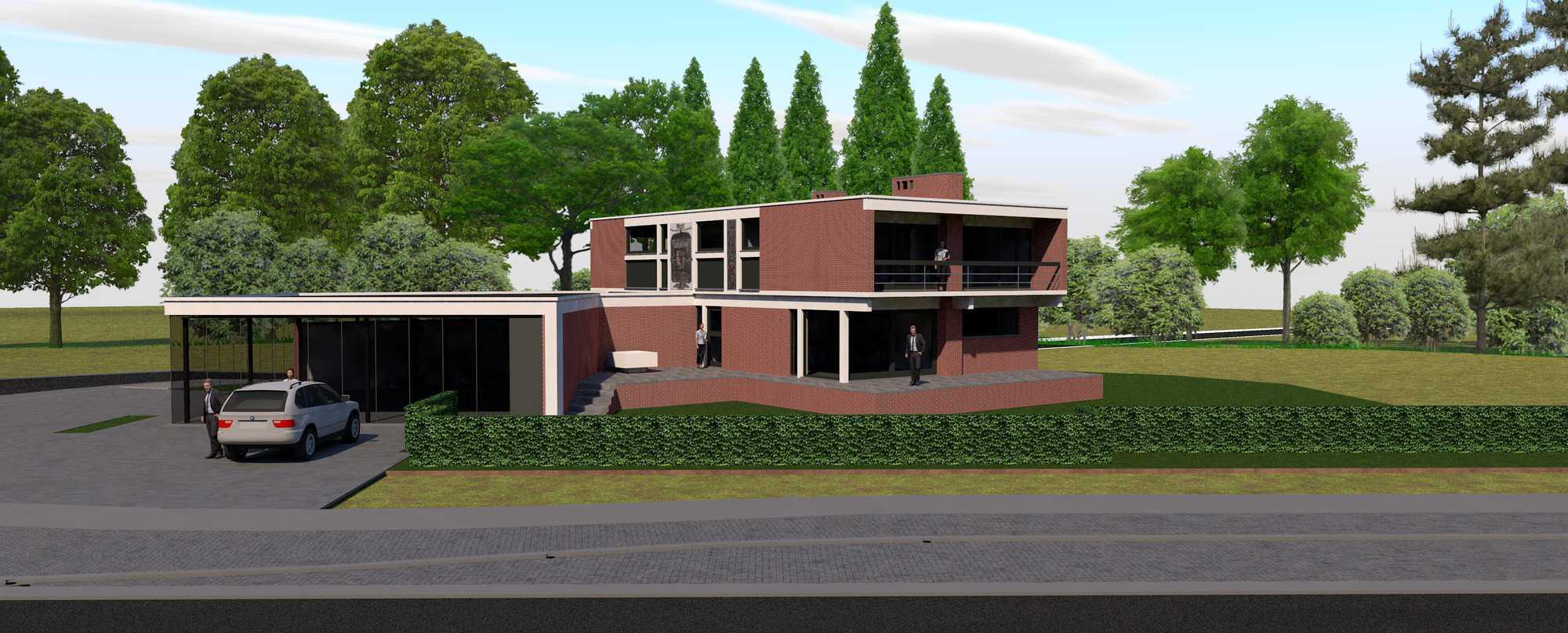 Detail afbeelding 7 van Verbouwing Modernistische Villa | Ontwerp door architect Patrick Strackx