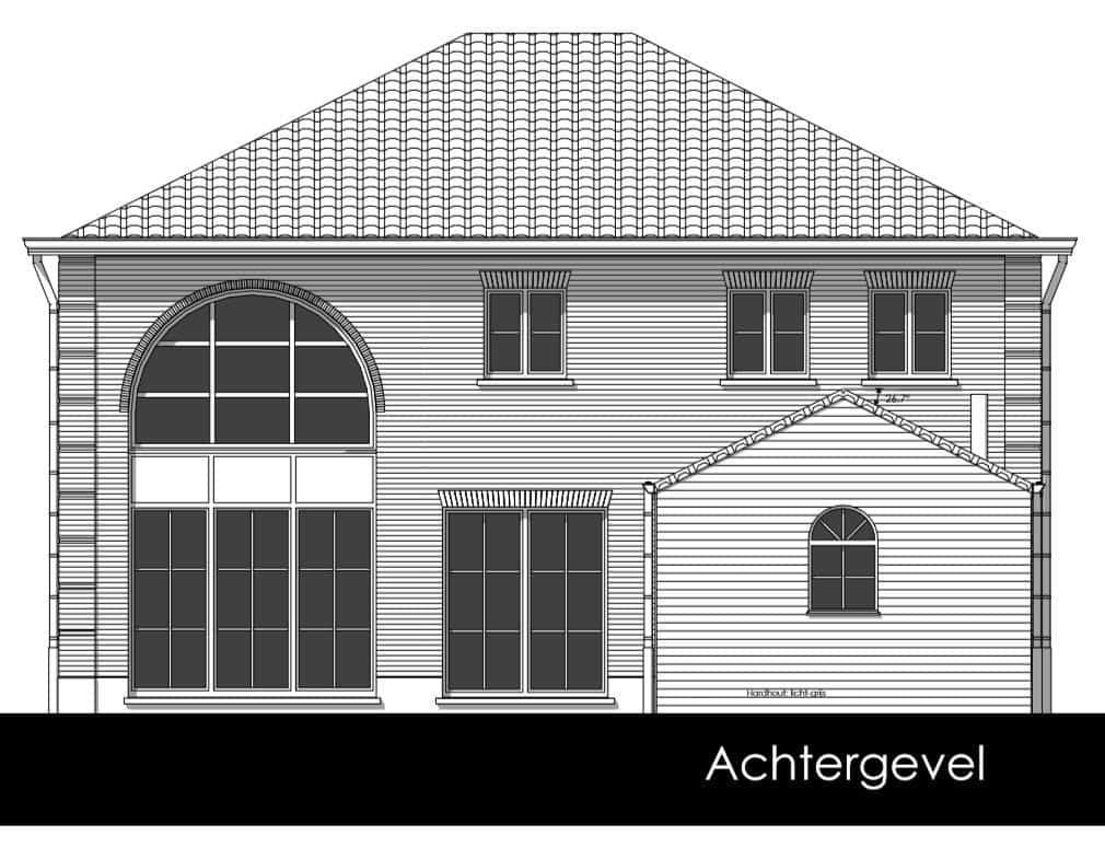 Detail afbeelding 6 van V & C   –   Manoir woning + praktijk verloskundige   –   Bochelt | Ontwerp door architect Patrick Strackx