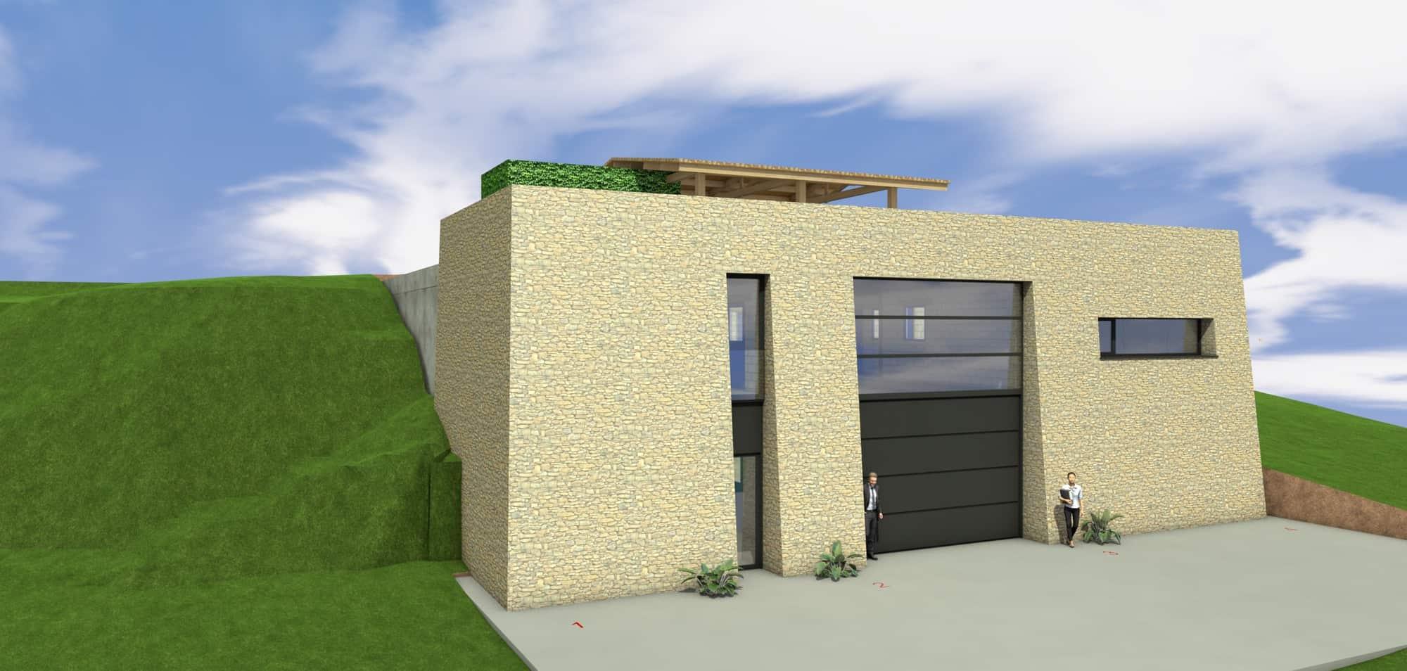 Detail afbeelding 11 van LIETEBERG – Technische dienst – Wedstrijdontwerp + uitvoeringsontwerp | Ontwerp door architect Patrick Strackx