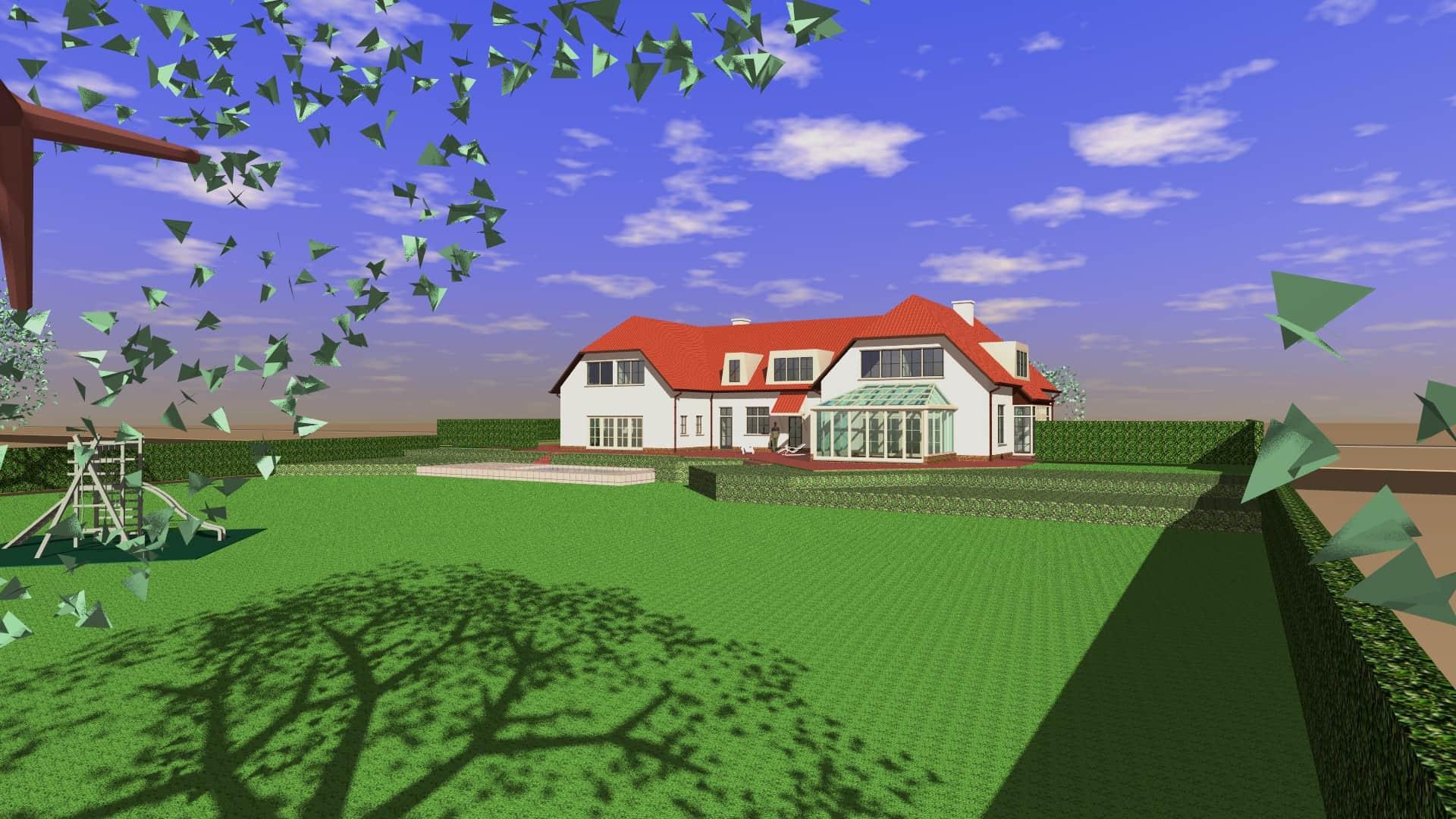 Detail afbeelding 1 van S   –   Verbouwing en uitbreiding Villa   –   Lanaken | Ontwerp door architect Patrick Strackx