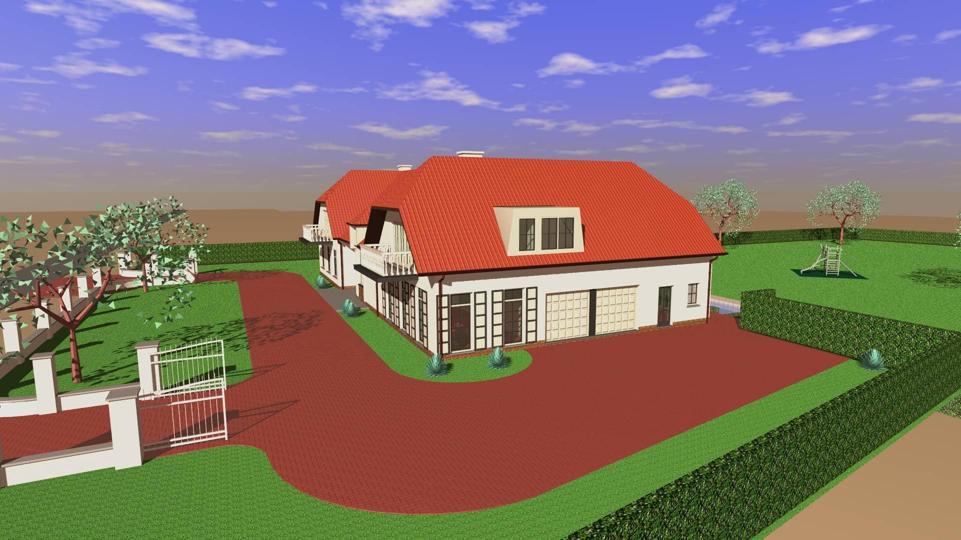 Detail afbeelding 2 van S   –   Verbouwing en uitbreiding Villa   –   Lanaken | Ontwerp door architect Patrick Strackx