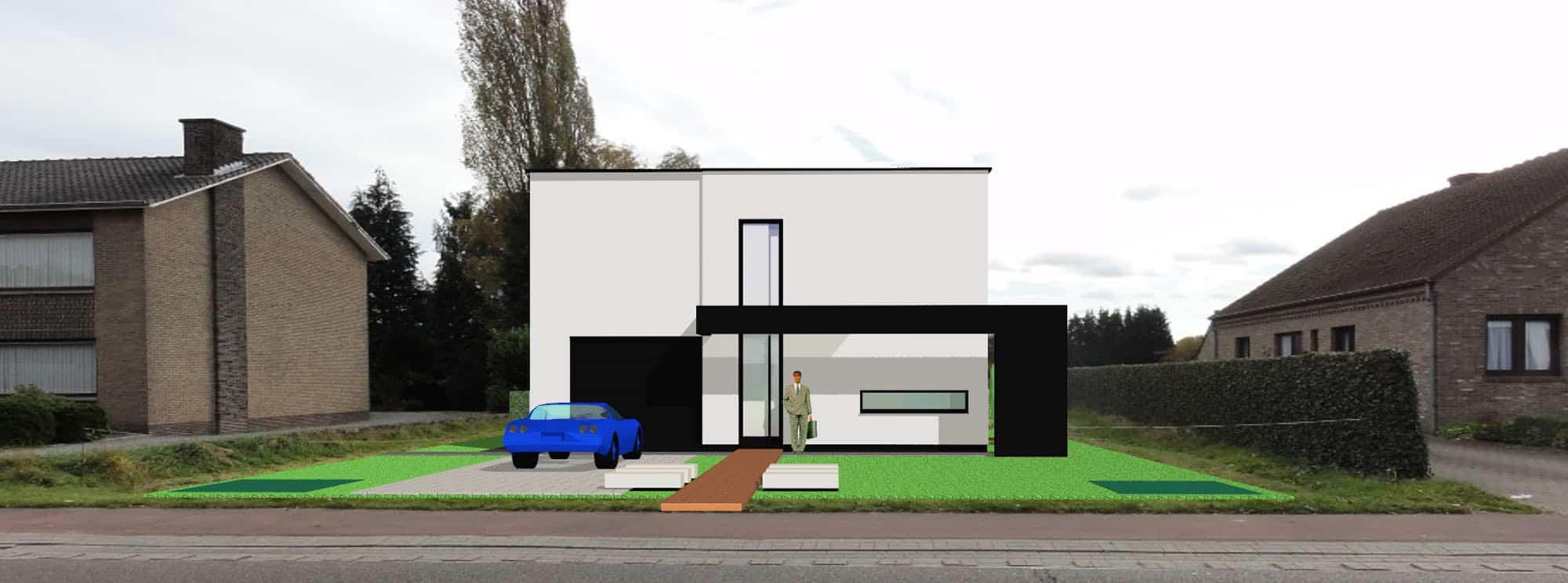 Architect Strackx Zutendaal Limburg